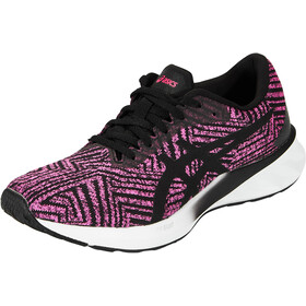 asics Roadblast Shoes Women pink glo/black